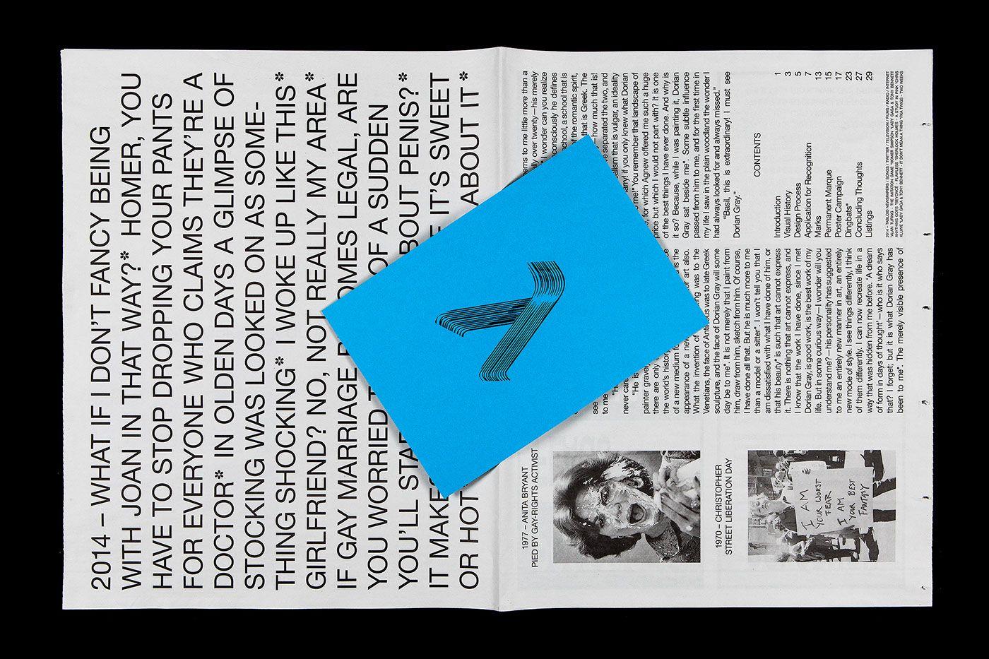HBTQ* - Publication & Website on Behance