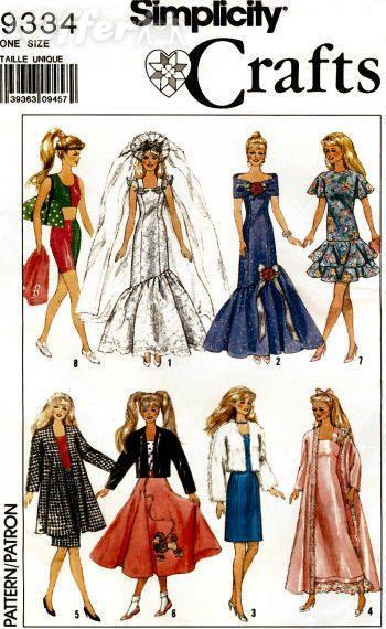 Barbie doll clothes pattern | sindy | Pinterest | Barbie, Barbie ...