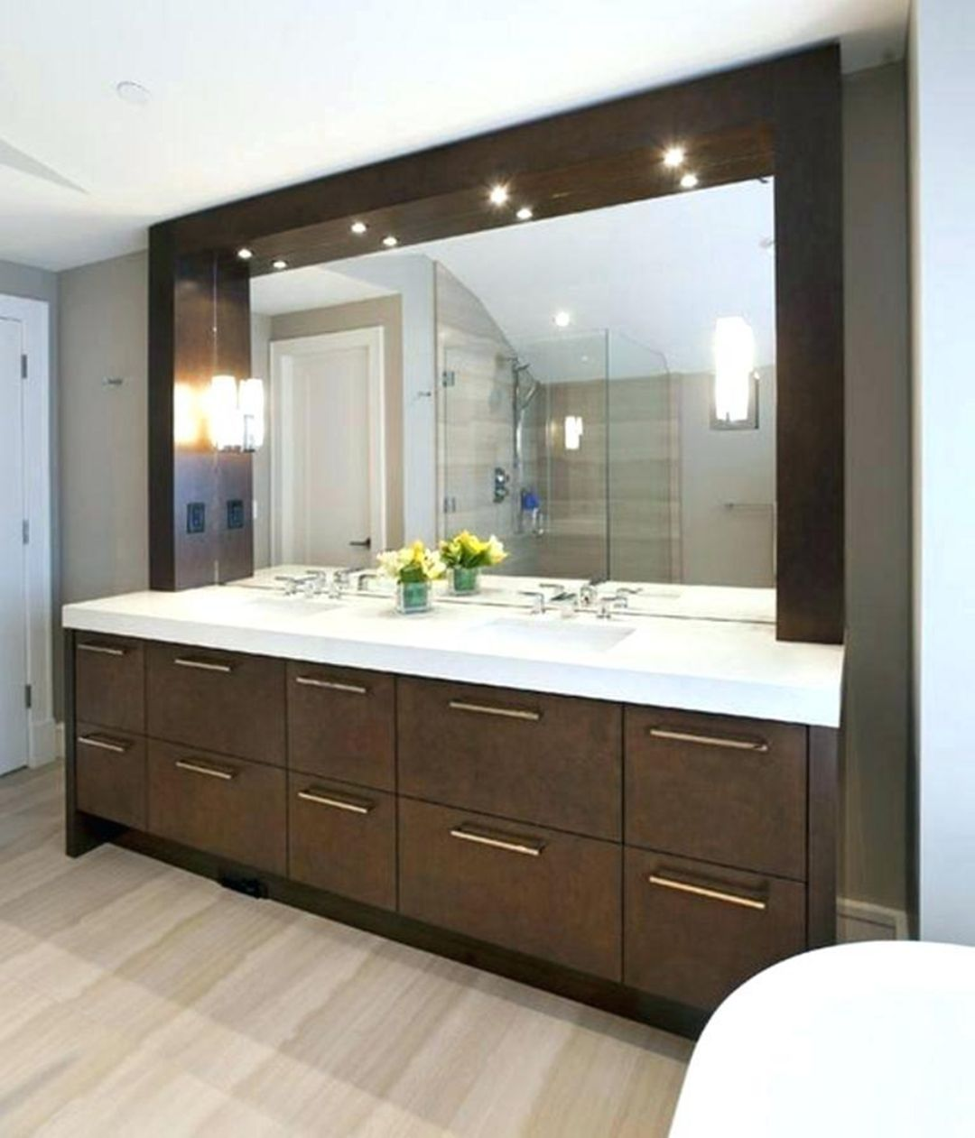 13 Amazing Modern Vanity Mirror Design Ideas For You To See With