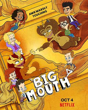 Big Mouth En 2020 Bocones Animacion Para Adultos La Casa De Los Dibujos
