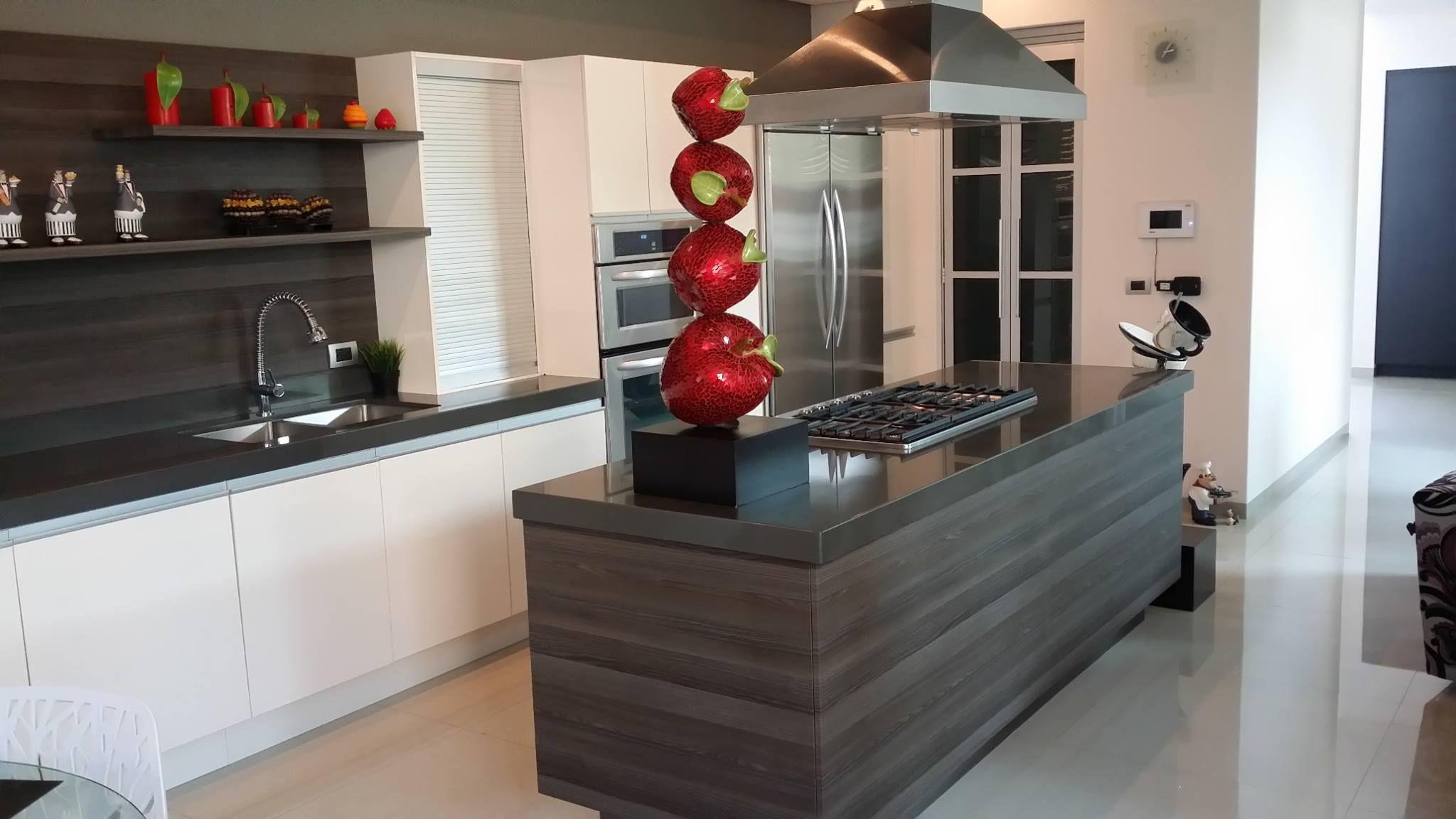 Resultado de imagen para cocinas modernas minimalistas for Adornos cocinas modernas