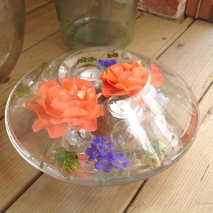 Rosen für den Tisch
