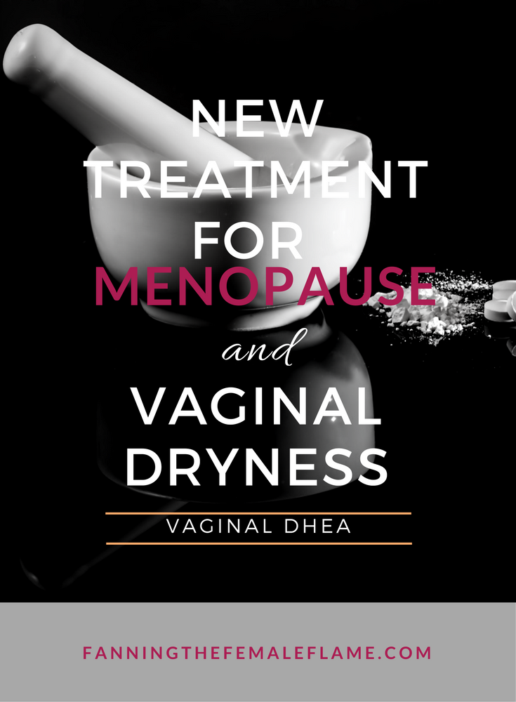 Menopausal vaginal pain during sex