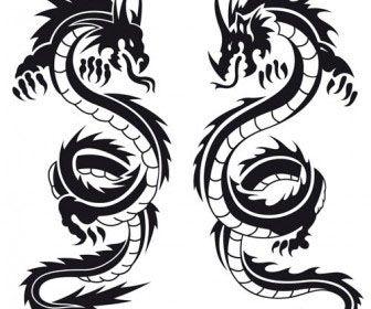 Tattoo Templates  Dragons  Tats And Stuff    Tattoo