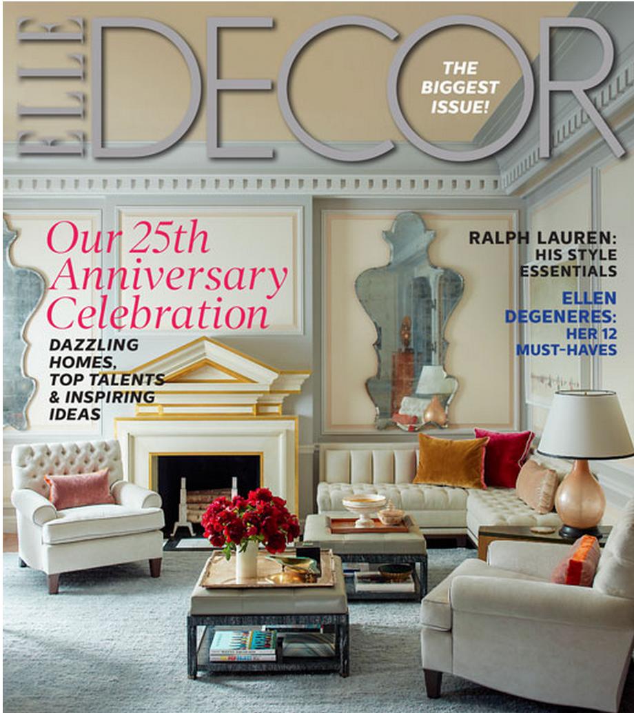 In The News Elle Decor Elle Decor Magazine Interior Design