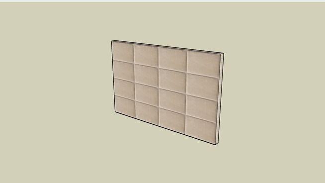 Cabeceira Grápia_Emporio Beraldin - 3D Warehouse