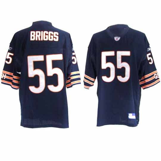 finest selection 4bb15 7c3ac 55 Blue Lance Briggs NFL Chicago Bears Jersey ID:974504335 ...