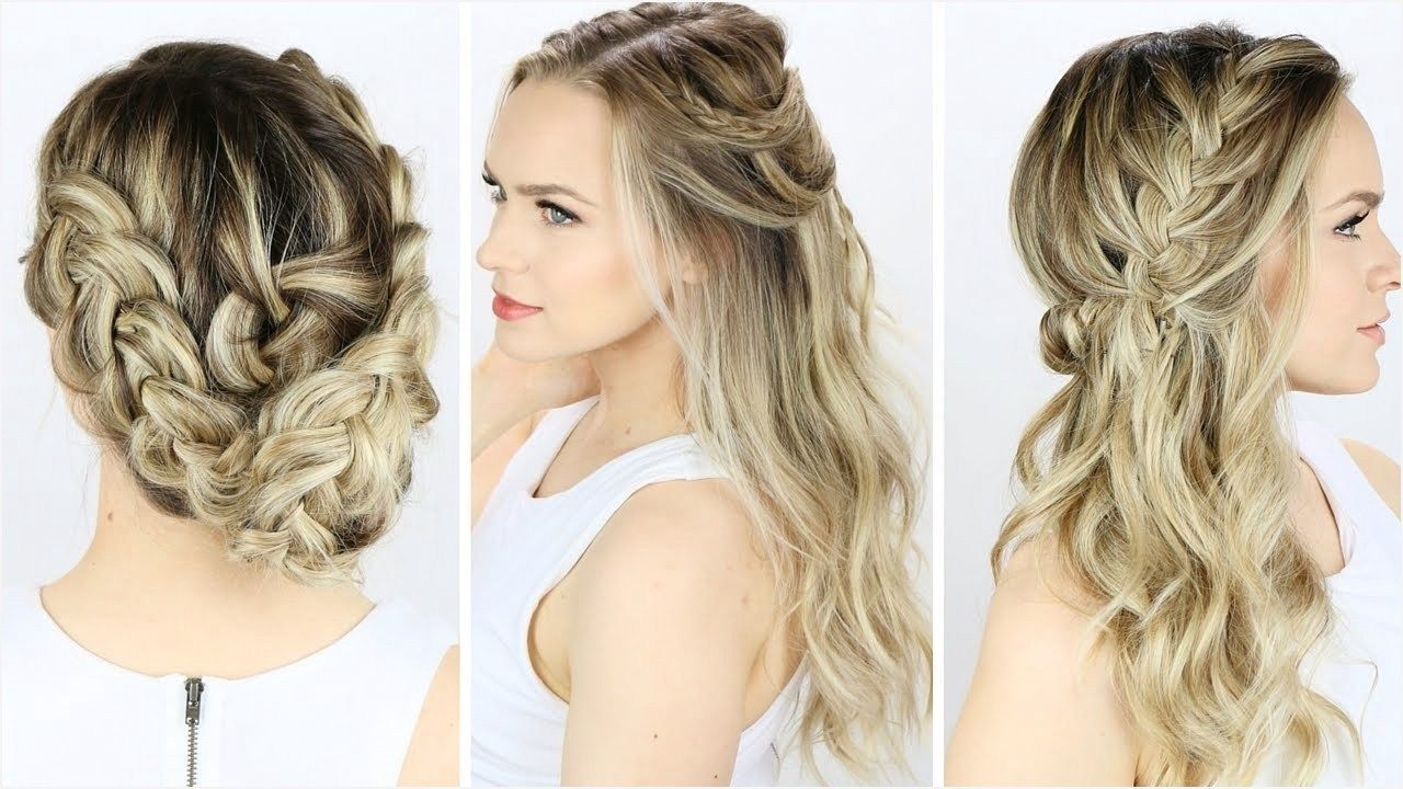 41 cute hairstyles for wedding guests 34 easy wedding guest