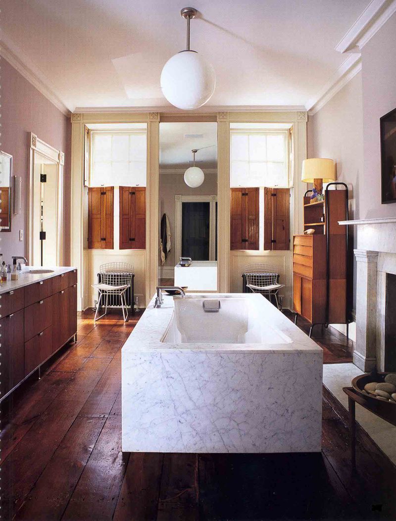 Dream bathrooms tumblr greenwhich village townhouse renovation nicholas s g stern