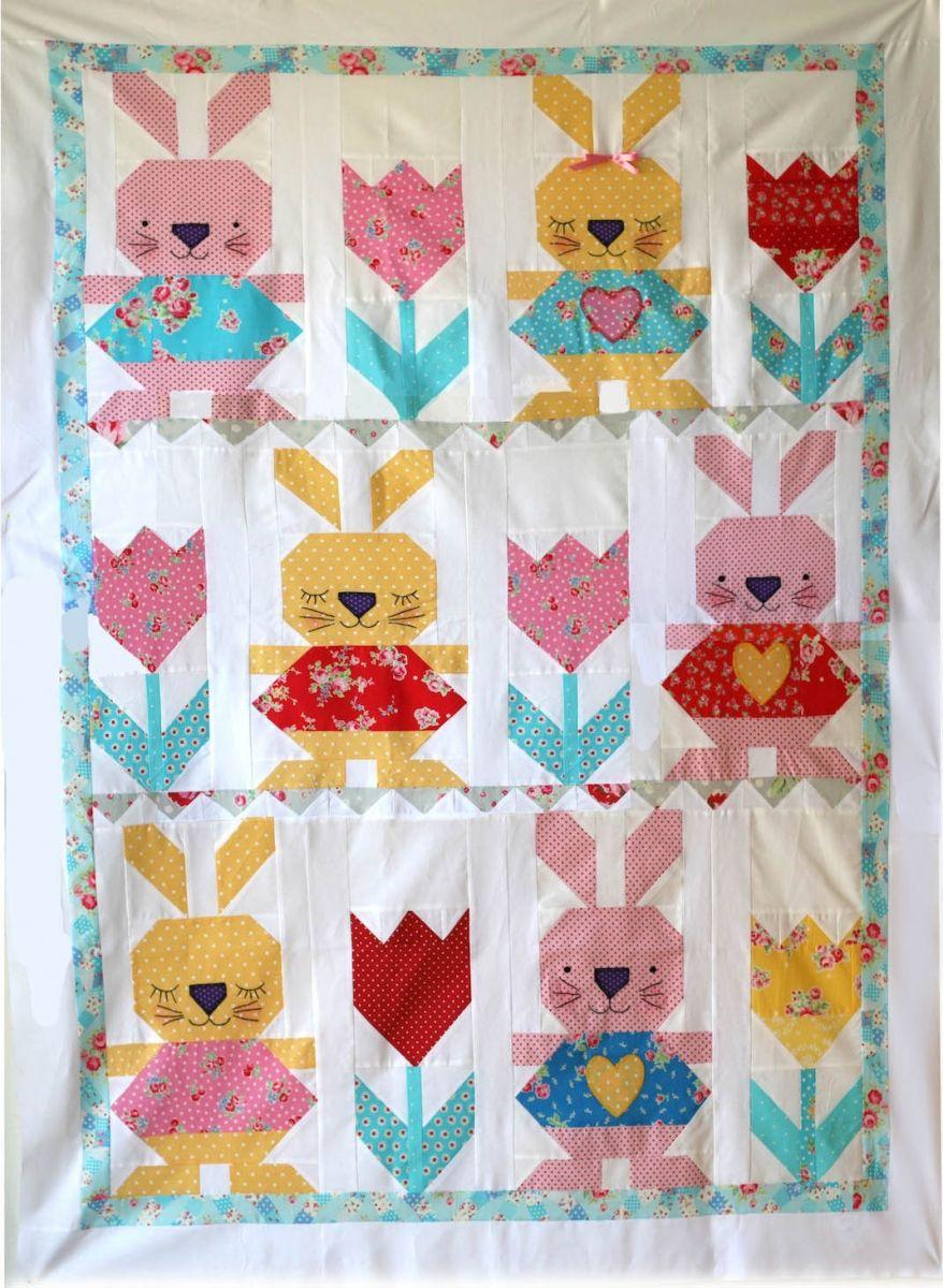Rabbit Quilt | pachwork | Pinterest | DIY und Selbermachen und ...