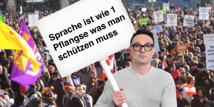 Experten warnen: Deutsche Sprache degeneriert vong Internet her