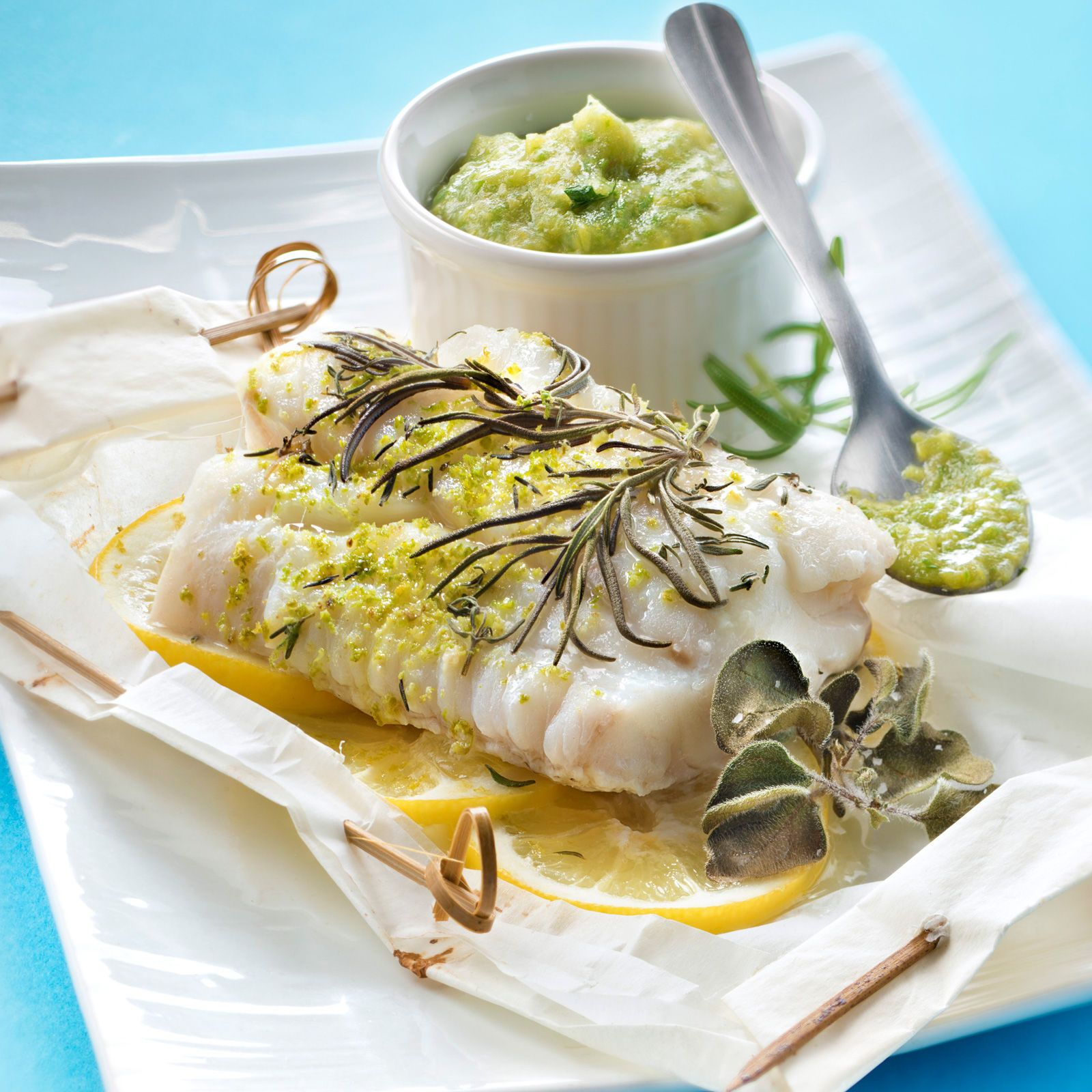 Découvrez la recette Dos de cabillaud en papilotte sur cuisineactuelle.fr.