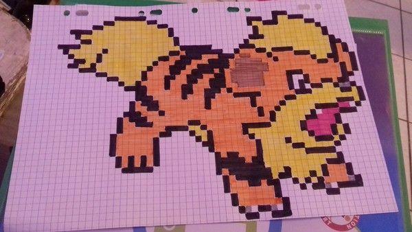 Image Du Blog Lesbricodelocenterblognet Dessin Pixel
