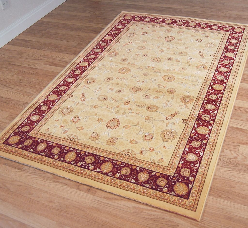 Red Rugs Modern Traditional