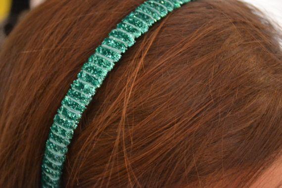 Turquoise Sparkle Wrapped Headband - $8