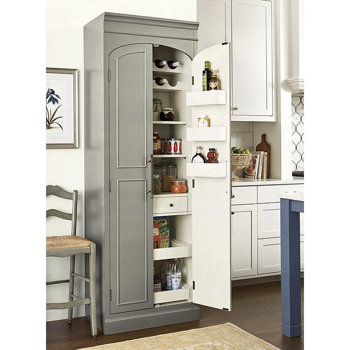Stand Alone Kitchen Pantry, Kitchen Pantry Cabinet Ballard Designs