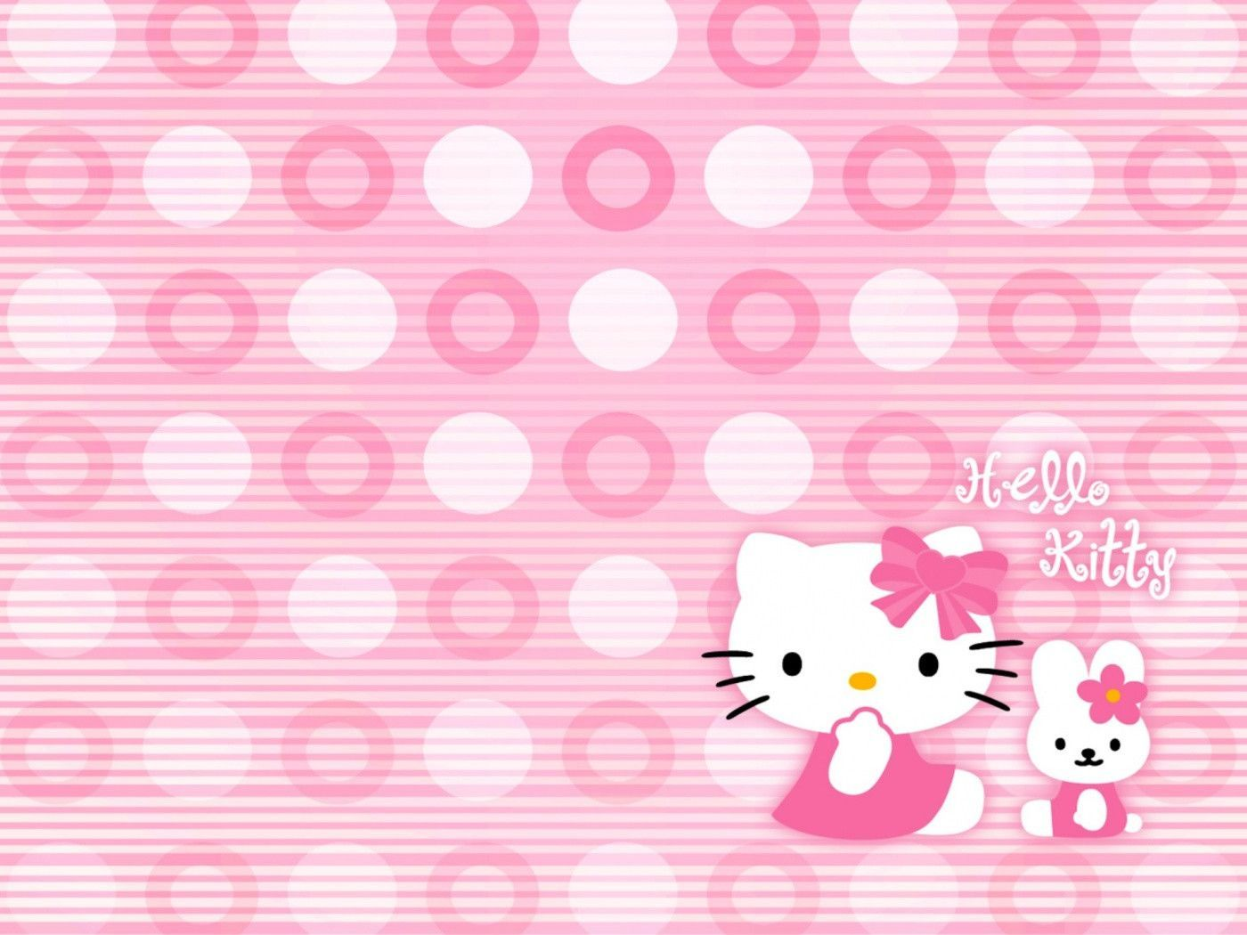 Hello Kitty Wallpapers Desktop Backgrounds Wallpaper Cave