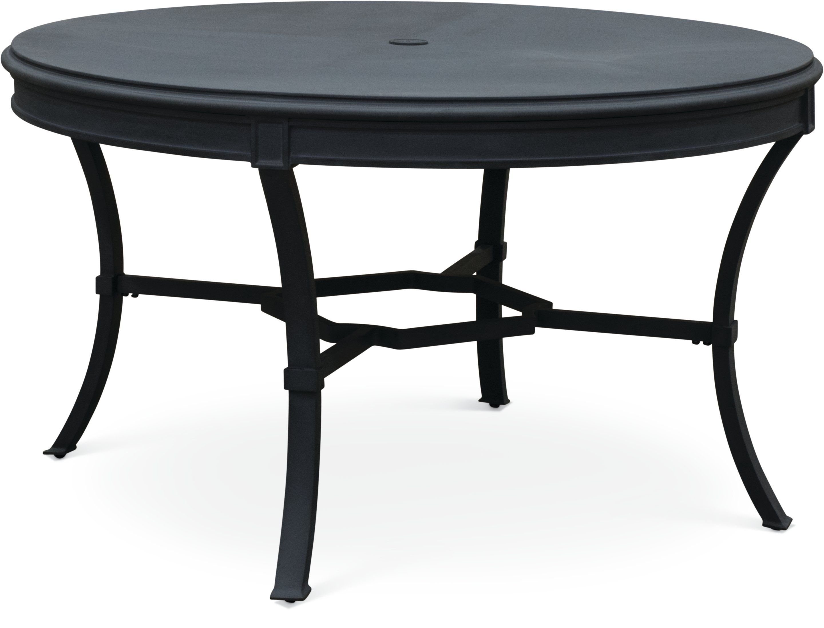 54 Inch Blue Gray Round Outdoor Patio Table Antioch In 2020 Patio Dining Set Outdoor Dining Table Patio Dining Table