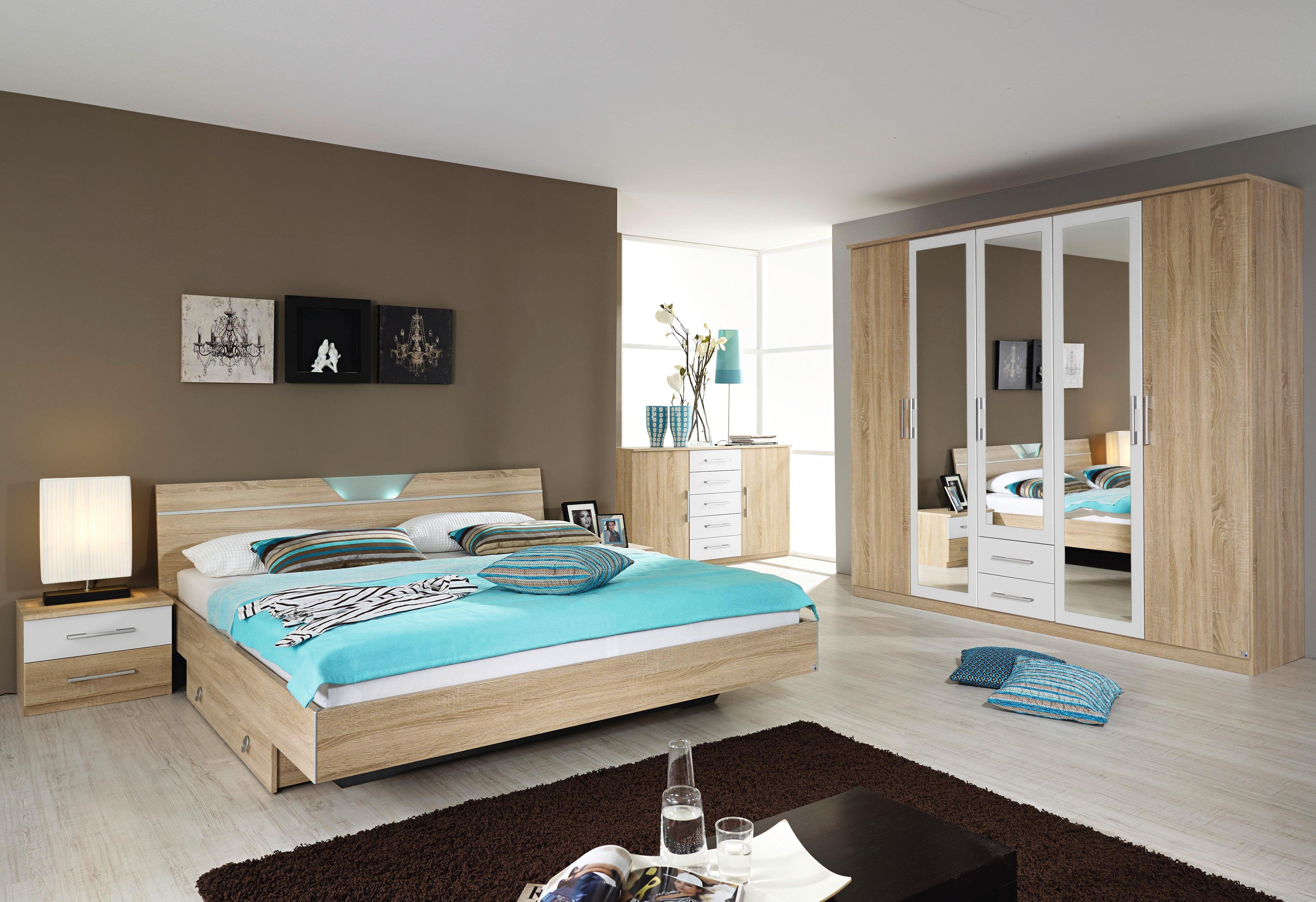 Rauch PACK`S Schlafzimmer-Set (4-tlg.) beige, pflegeleichte ...