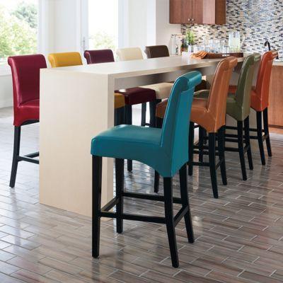 Valencia Leather Bar Stools Interior Design Dining Room Bar Stools Leather Bar Stools