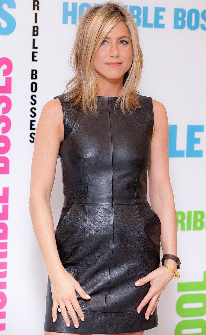 Photo of Leather dress jen aniston
