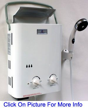 The Eccotemp L5 Tankless Propane Water Heater Is Ideal For