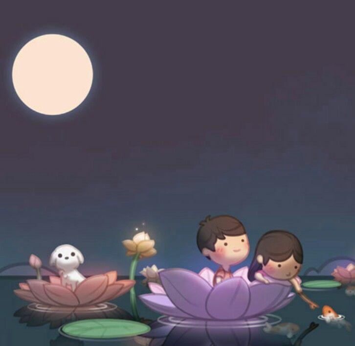 My Favorite Flower Is A Lotus Cute Love Stories Love Is Cartoon Cartoons Love