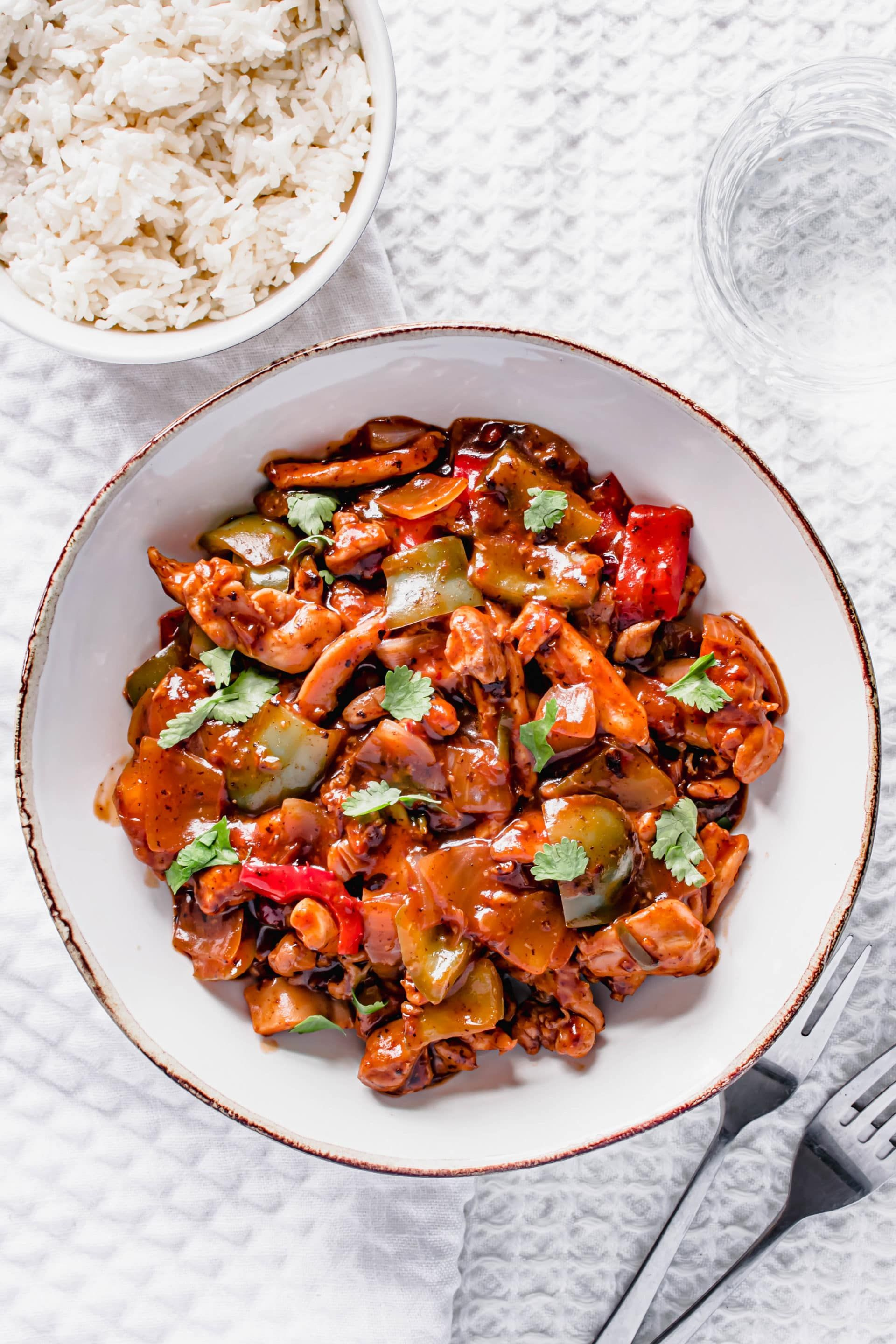 Chilli Chicken Recipe | Easy To Make | Hint Of Helen in 2020
