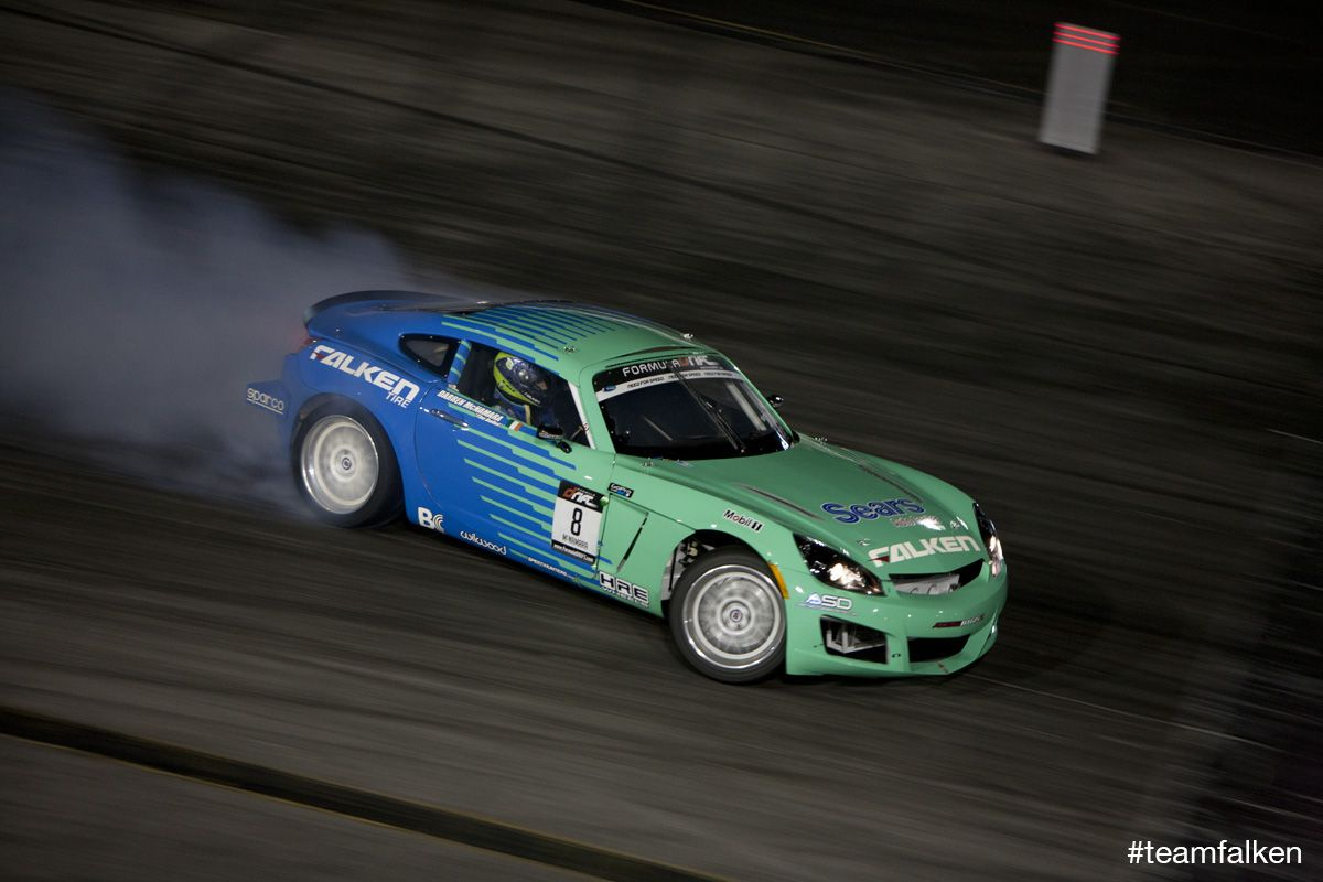 Darren McNamara And The Team Falken Saturn Sky 2011 Formula Drift Irwindale