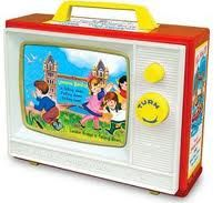 """Fisher Price  I think I knew someone who had this and it played """"Somewhere over the Rainbow."""""""
