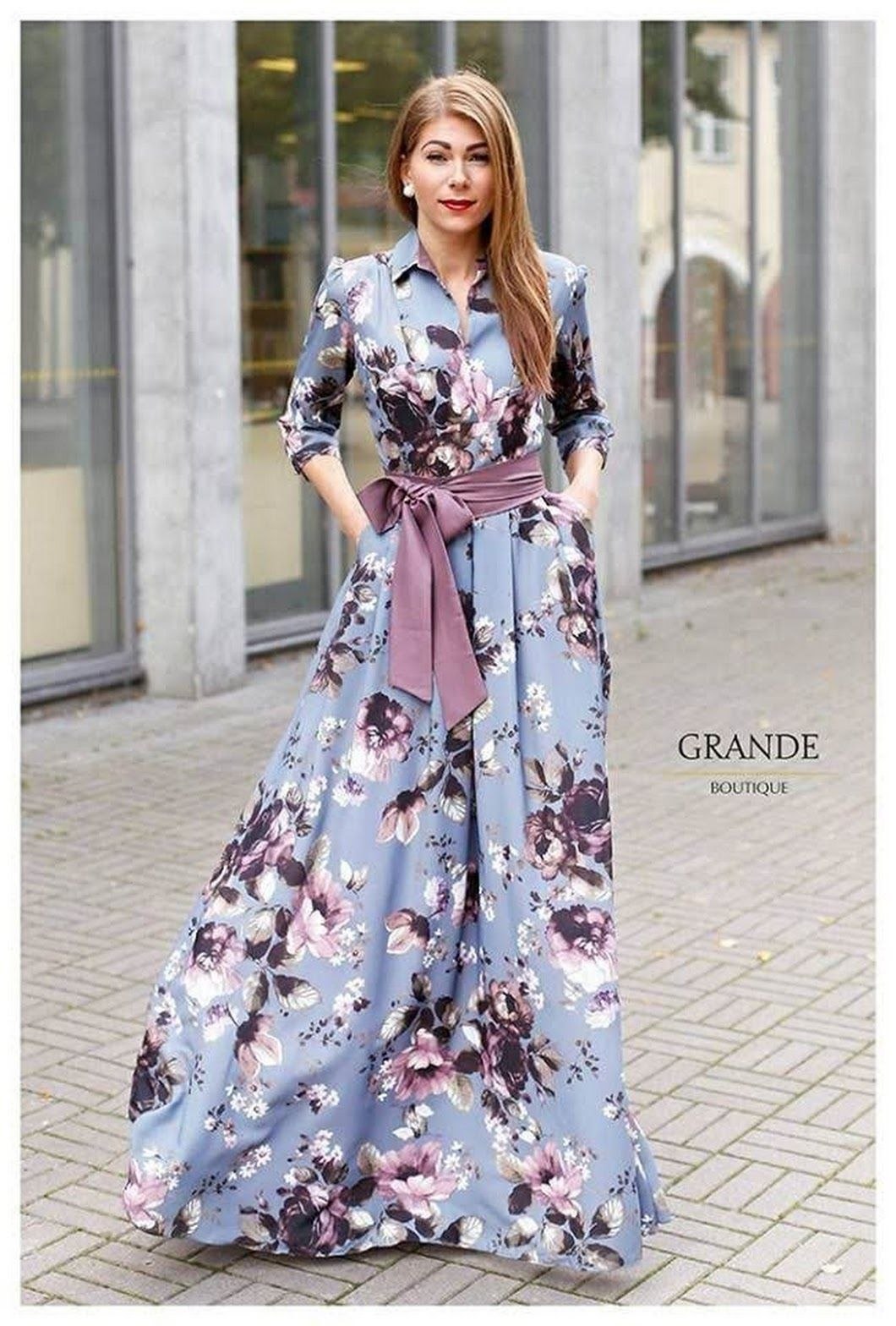 Drap your style with this multi-color digital printed gown. A perfect  outfit for casual Attire 💃 Trendy Partywear Colleciton ! 5767fc1b38