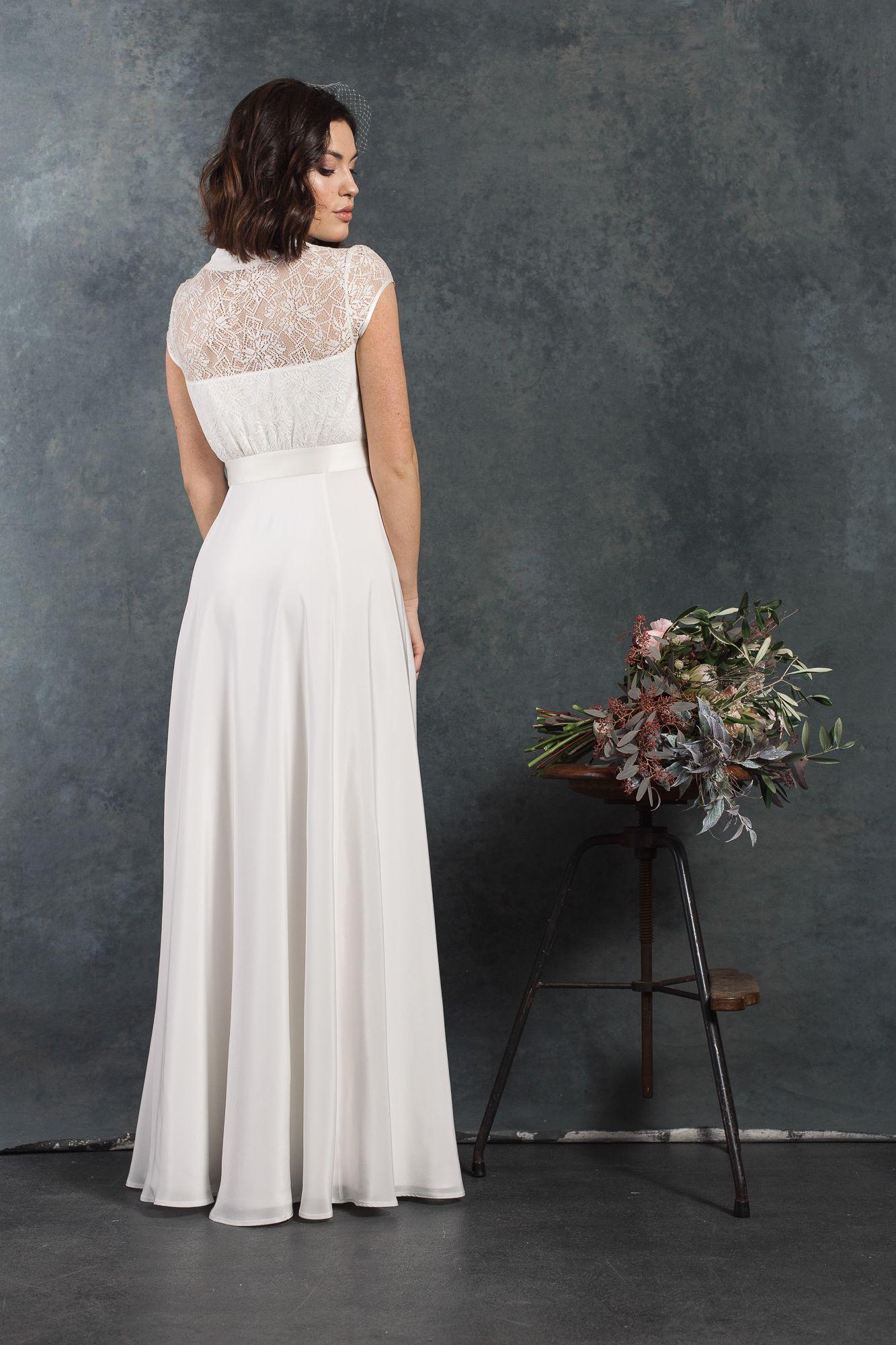 Labude Brautkleid Eveline - Bridal Dress Vintage Stil 11s 11er