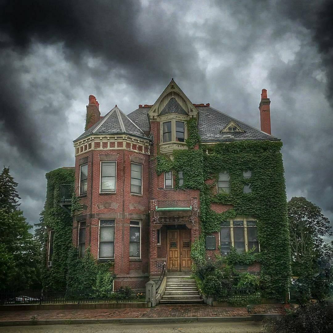 Portland Maine Creepy Old Houses