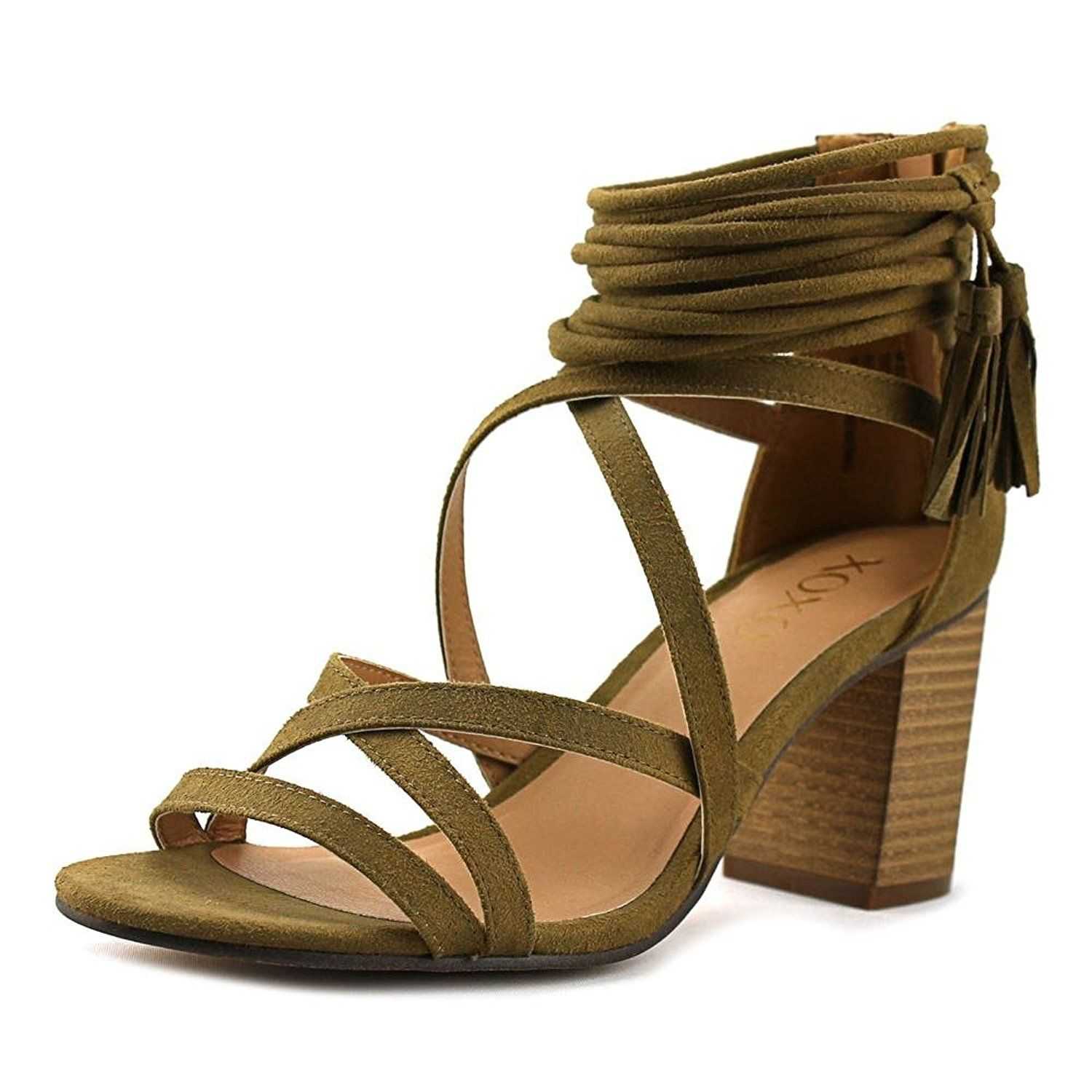 4262b663b XOXO Women s Elle Heeled Sandal. Block heel sandal. Women s Shoes ...