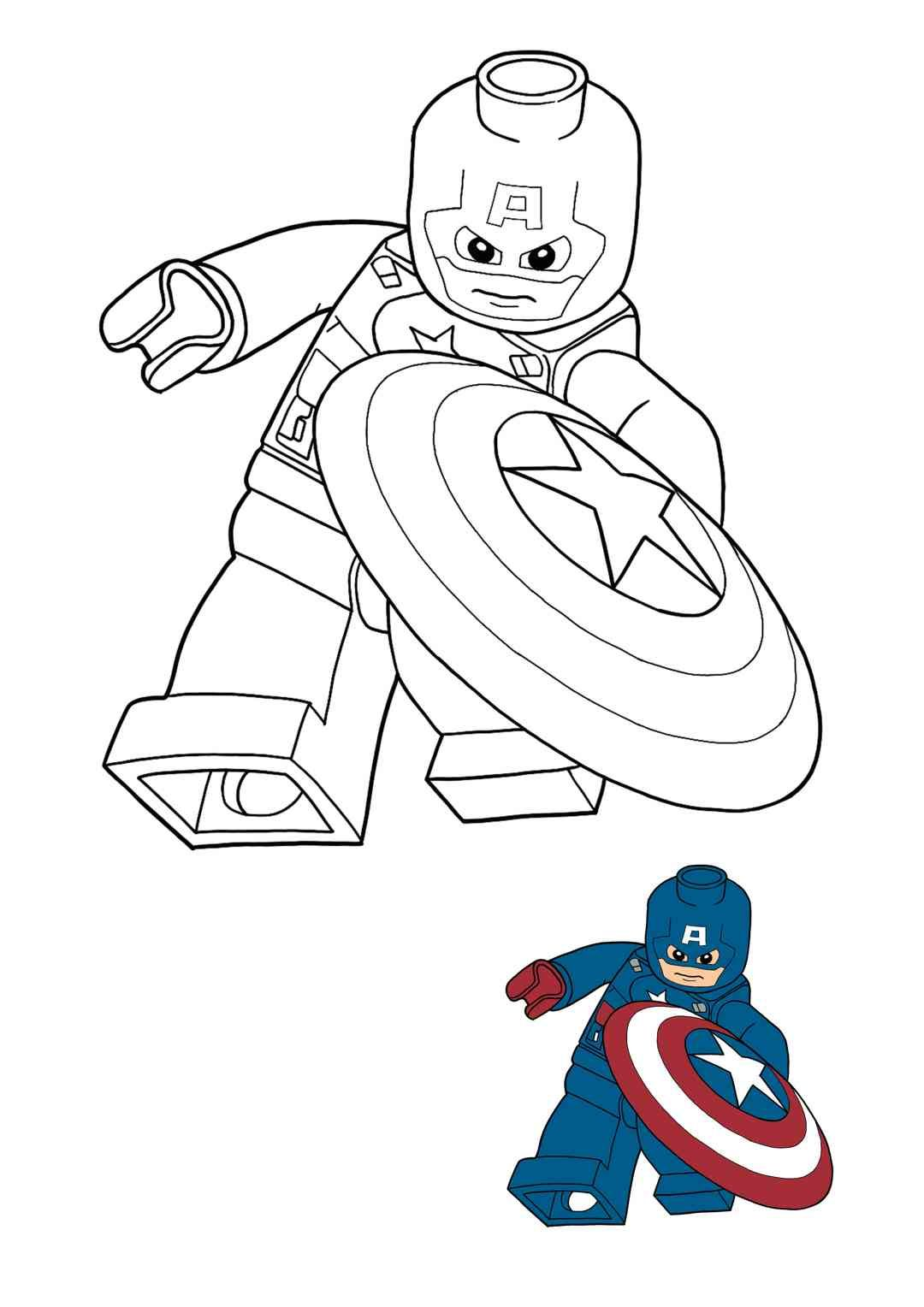 Lego Captain America Coloring Pages Captain America Coloring Pages Free Printable Coloring Sheets Free Printable Coloring