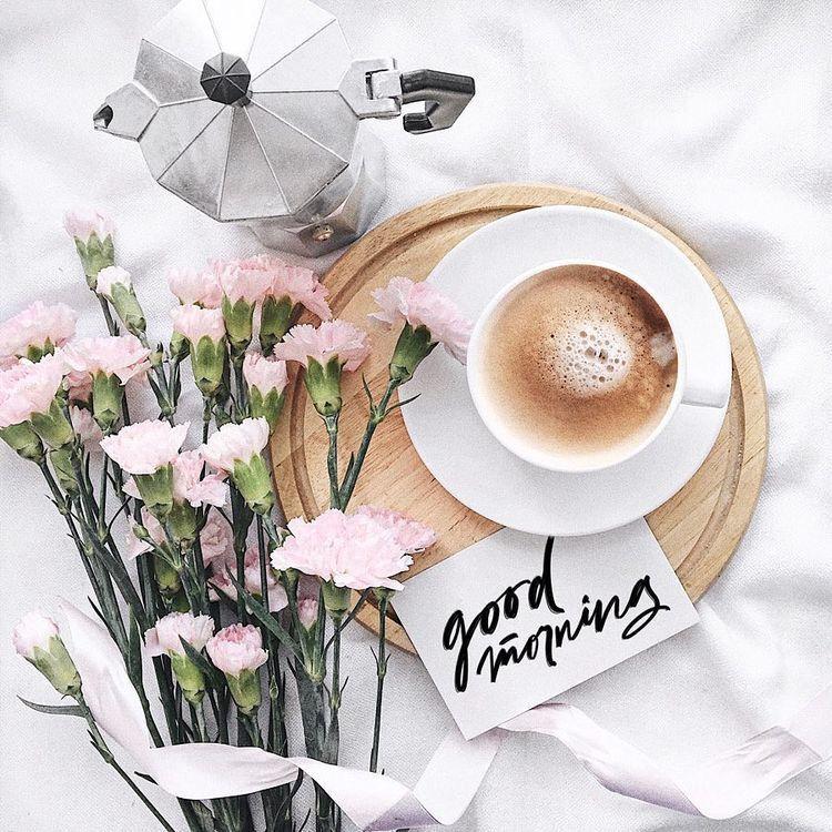 Cvety Kofe Chaj Uyut Kofejnye Illyustracii Fotografii Kofe