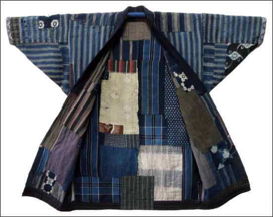 Boro Japanese Farmers Jacket Japanische Textilien Japanische Stickerei Japanische Stoffe