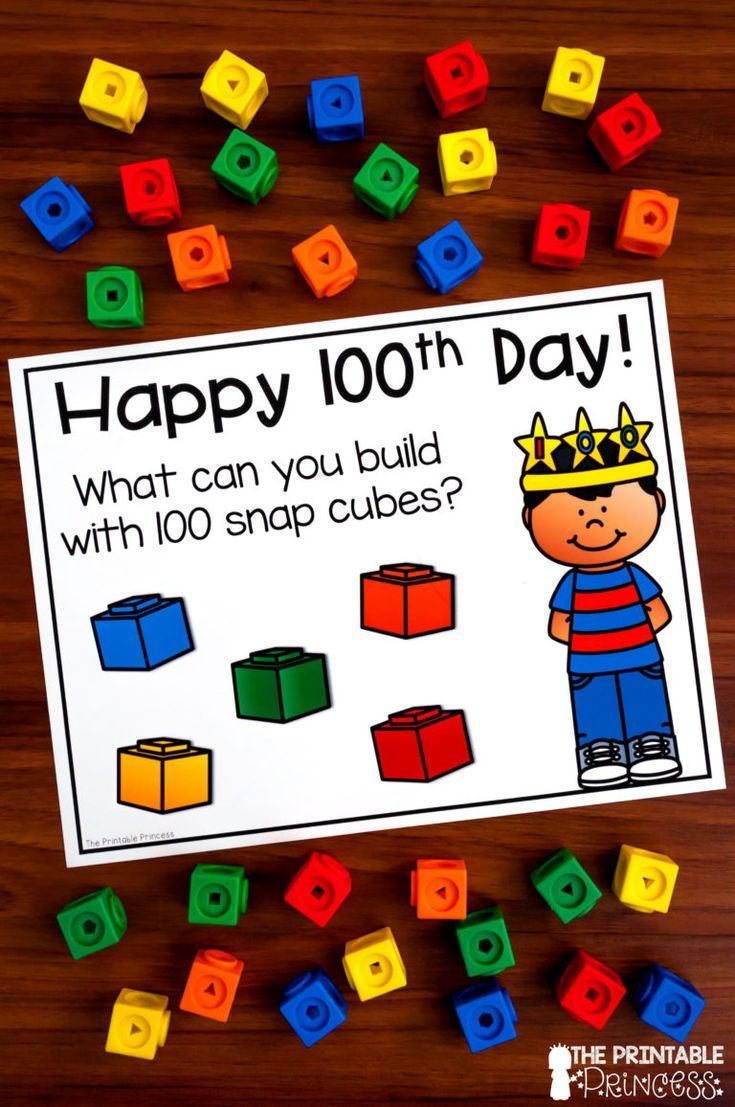 100th Day of School Activities and Centers {Math and Literacy}