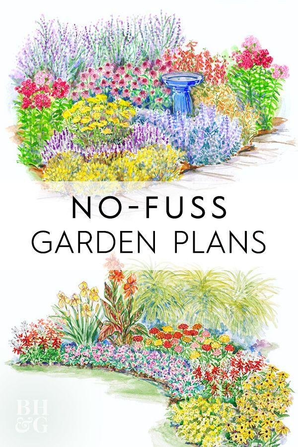 15 No-Fuss Gardens Plans to Try In Your Garden