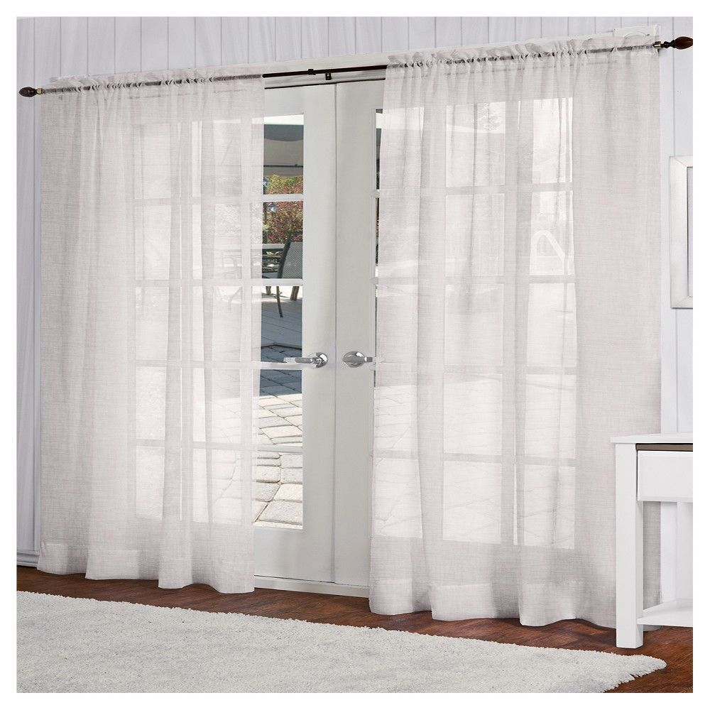 Exclusive Home Belgian Curtain Panels