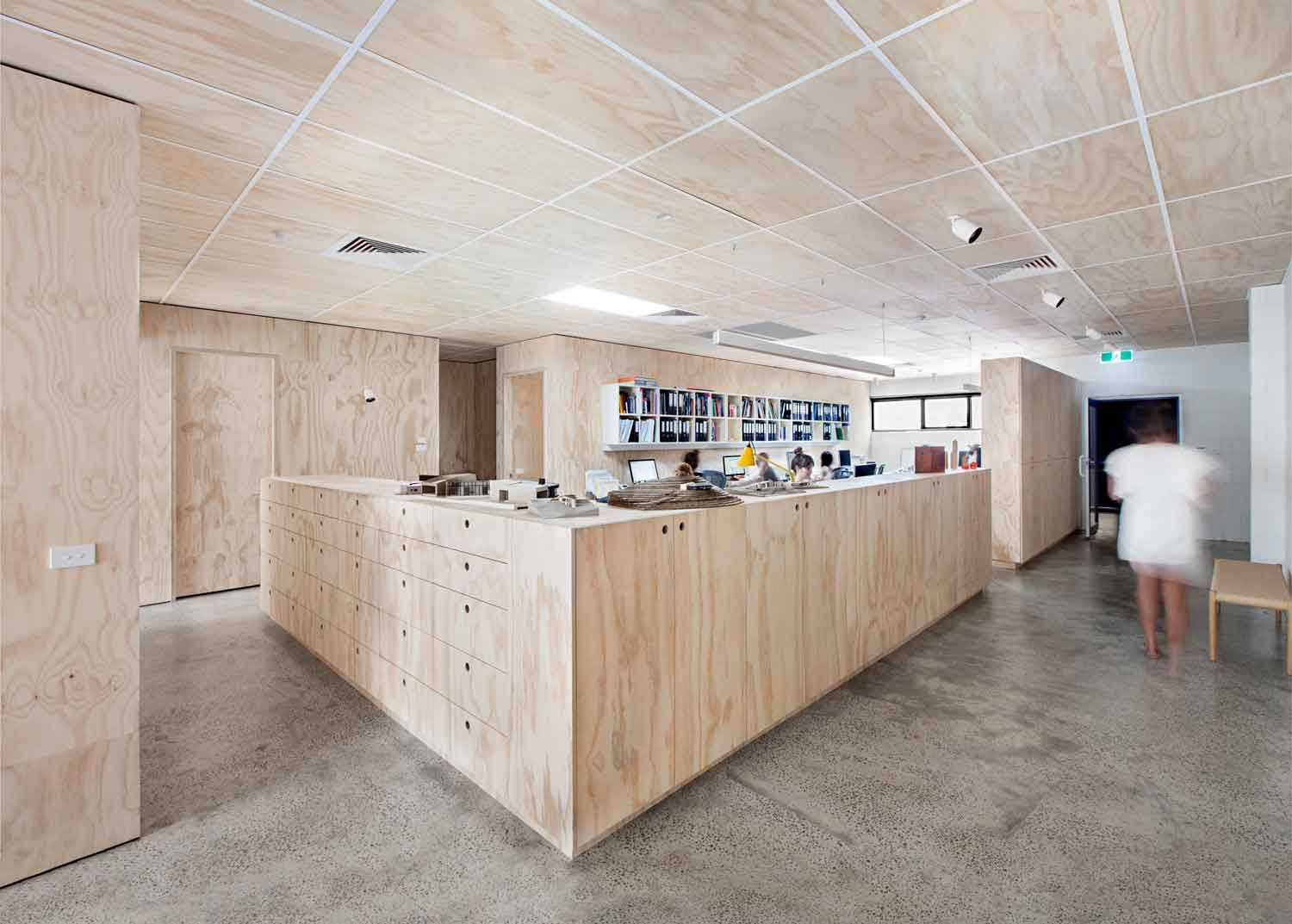 Architecture Studio Space blackwood street bunkerclare cousins architects | cousins