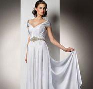 A Roman Style Wedding Dress