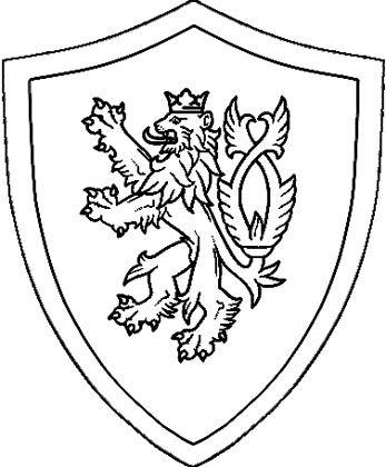 Ritter Schild Malvorlage Ausmalbild Ritterschild Ritterschild Wappen Vorlage Ritter Zeichnung