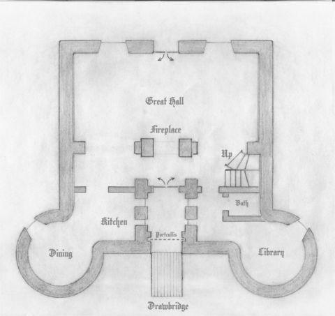 Michele Level 1 Castle Magic Castle Floor Plan Castle Plans Small Castles