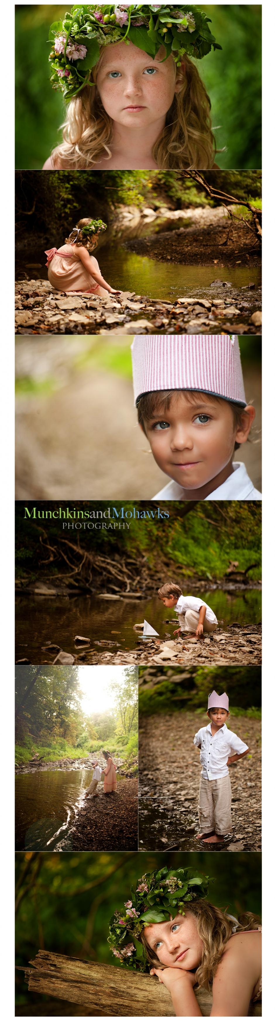 lovely children's photo session