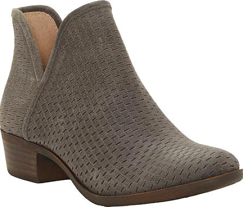 2f760264b Lucky Brand Baley Bootie in Storm Leather #shoes #Footwear #fashion #boots