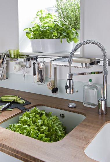 Darty Cuisine - Nos cuisines - Famille nombreuse - Table de cuisson - Meuble Rideau Cuisine Leroy Merlin