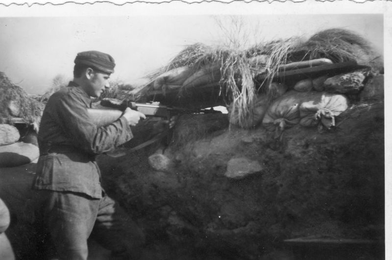 A Finnish Soldier watches the lines for Russians, Finland, August 1940. Perkele, pin by Paolo Marzioli