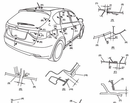subaru impreza wrx 2008 2009 service manual repair and service rh pinterest com Subaru Impreza Manual Shift 2008 subaru impreza service manual
