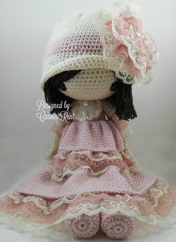 Dorle- Amigurumi Doll Crochet Pattern PDF | Muñecas, Ganchillo y Tejido